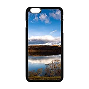 Blue Sky And Lake Hight Quality Protective Case for Iphone 6plus