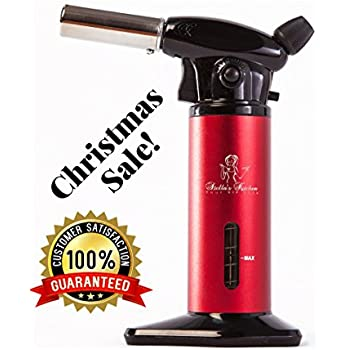 CULINARY TORCH FOR CREME BRULEE   Refillable Kitchen Torch   Blow Torch   Cooking  Torch