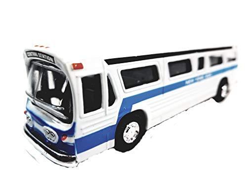 SF Toys Classic New York City Central Station White Passenger Bus 6
