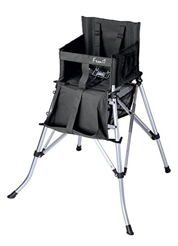 Creative Outdoor Folding High Chair, Black