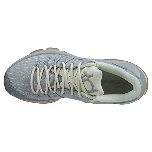 white Scarpe da KD NIKE Mtllc Plateado Grey Gris 8 Blanco Multicolore sl Uomo Slvr Wolf Basket URpRZwx
