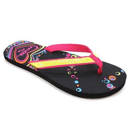 Frisky Shoes Womens 5-10 Sequin Flip Flop Yellow qwoMSUaZhB