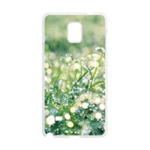 Samsung Galaxy Note 4 Cases Flower 130 for Men, Samsung Galaxy Note 4 Case Girls for Men [White]