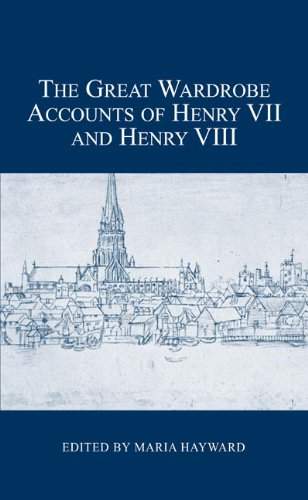 15th Century Costumes England - The Great Wardrobe Accounts of Henry