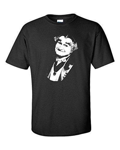 Jacted Up Tees Grandpa Munster Men's T-Shirt - Med Black (967) (Grandpa Munsters)