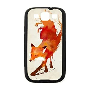 The Stylish Designs Art Handsome Fox Samsung Galaxy S3 I900 Case Cover (Laser Technology)