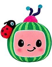 Cocomelon Pluche logo.