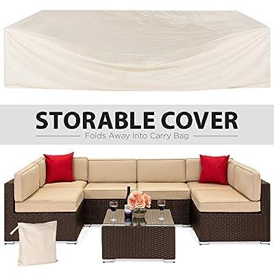 Best Choice Products 7-Piece Conversation Sofa Set