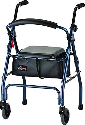 NOVA Medical Products Cruiser II Walker, Blue