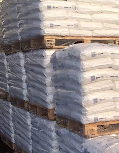 XXL Palette Salztabletten/Salzkissen/Regeneriersalz/Salz Pastillen für Wasserenthärtungsanlagen und Schwimmbäder 1225 kg - (4