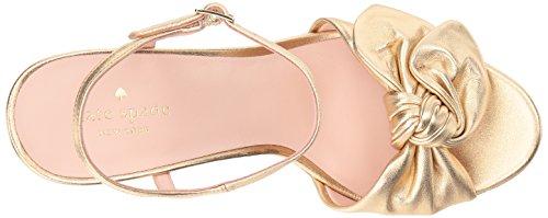 Kate Spade Women's Janae Espadrille Wedge Sandal Gold Wmu5f4DK