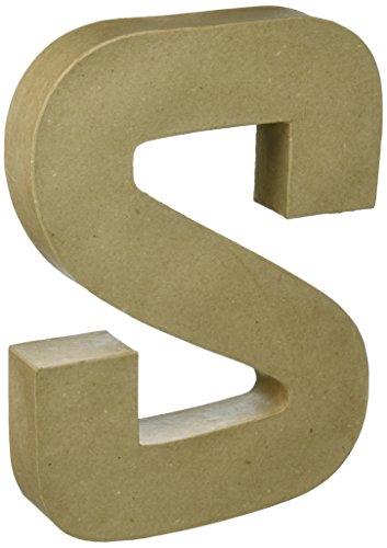Darice 2861S Paper Mache Letter 12Inx15In