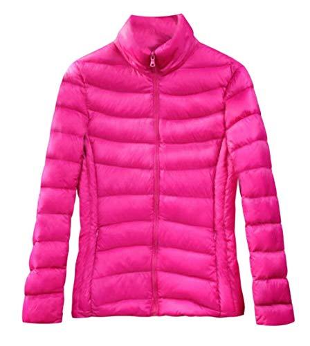 Rossa Comprimibile Ultra Puffer Donna Rosa Outwear Cappotti Eku Piumino Sportiva qvzwPfS