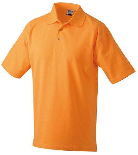 Polo Piqué Medium, Größen S-5XL, viele Farben Orange,4XL