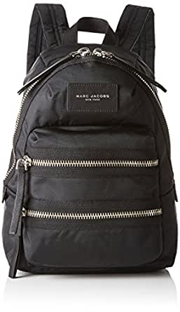Marc Jacobs Nylon Biker Mini Backpack, Black, One Size