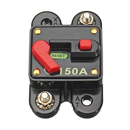 Beaums Car 12V-24V DC 150A Solar System Waterproof Circuit Breaker Reset Fuse Inverter Automobile Panel Mounting