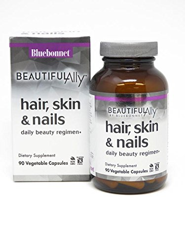 Bluebonnet Nutrition Beautiful Ally Hair, Skin & Nails, 90 Count
