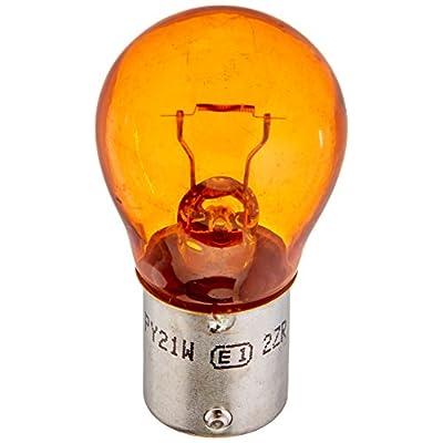 HELLA 7507TB Natural Amber-21W Standard Miniature 7507 Bulbs, 12V, 21W, 2 Pack: Automotive
