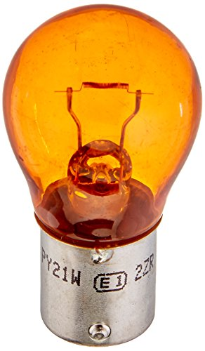 HELLA 7507TB Natural Amber-21W Standard Miniature 7507 Bulbs, 12V, 21W, 2 Pack