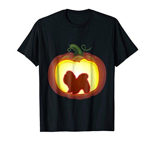 Pumpkin Lantern Shiba Tzu Shirt Halloween Costume Lover (Funny Homemade Dog Halloween Costumes)