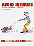 Pet Dreamland Double Dog Leash for Big Dogs - Two