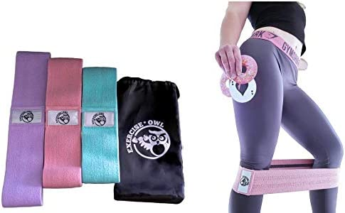 3 Pack BONMIXC Resistance Bands Set Thickened High-Density Fabric Booty Bands for Women Exercise Bands for Working Out 3 Different Levels of Strength Helpful for Different Exercisers and Body Parts