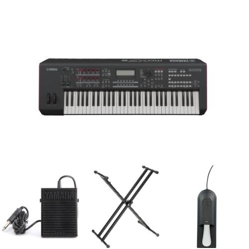 Yamaha MOXF6 61-Note Music Production Workstation Bundle