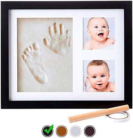 Marco para Fotos y Huellas de Bebé – Cuadro con Arcilla para ...