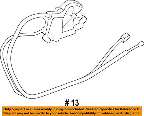 BMW 51-24-7-191-213 Trunk Lid Power Lock Drive by BMW (Image #1)