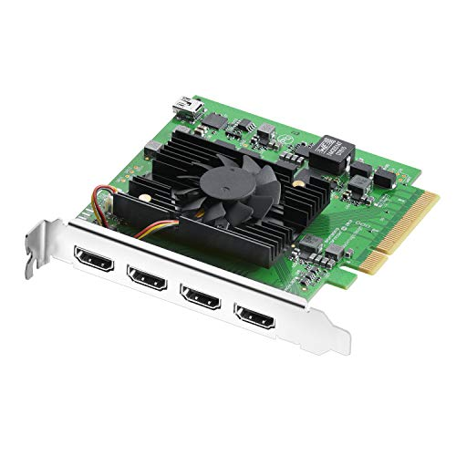 - Blackmagic Design DeckLink Quad HDMI Recorder PCIe Card