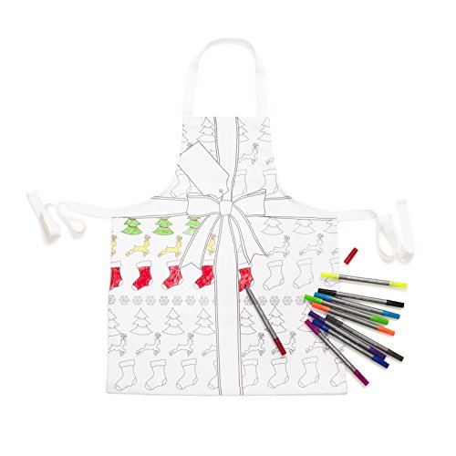 Doodle Chirstmas Apron - Adult