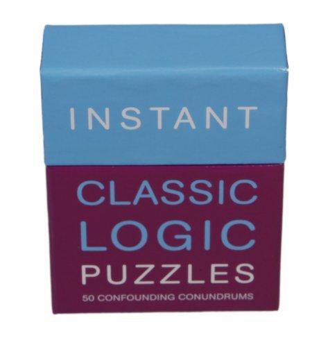 Instante Rompecabezas - 50 Confusión De Enigmas - Clásico Puzzles De Lógica por The Lagoon Group