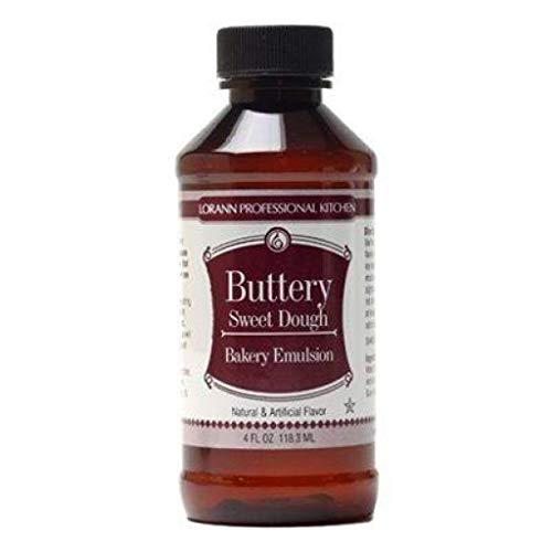 (LorAnn Buttery Sweet Dough Bakery Emulsion, 16 ounce botttle )