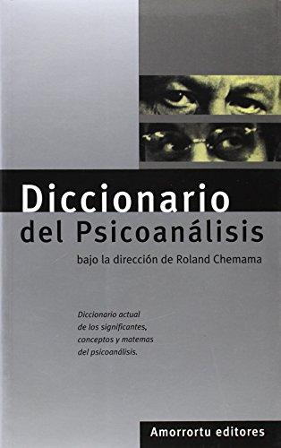 Descargar Libro Diccionario Del Psicoanálisis Roland Chemama