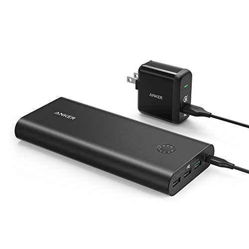 Click to buy Anker PowerCore+ 26800, Premium Portable Charger, High Capacity 26800mAh External Battery with Qualcomm Quick Charge 3.0 (in- and output), Includes PowerPort+ 1 Wall Charger - From only $82.99