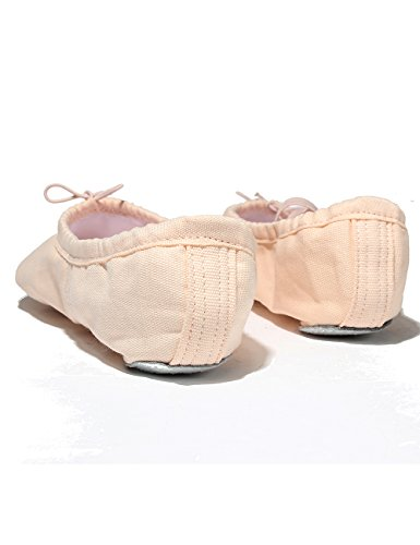 Pink Locker Lily's Dance Shoes Pale Dance Ballet and Children Slipper Girls Adult Sole for Split qUcfgqWF6