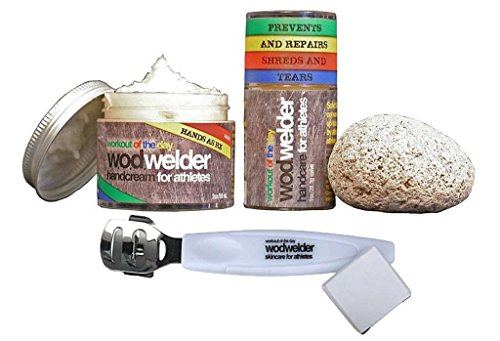 WOD Welder Handcare Value Pack - Solid Salve, Pumice Ston...