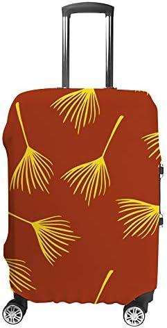 スーツケースカバー タンポポ 伸縮素材 キャリーバッグ お荷物カバ 保護 傷や汚れから守る ジッパー 水洗える 旅行 出張 S/M/L/XLサイズ