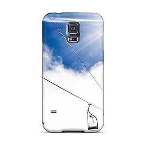 Protector Hard Cell-phone Cases For Samsung Galaxy S5 With Custom Fashion Mountain Ropeway Ski Resort Skin AshtonWells