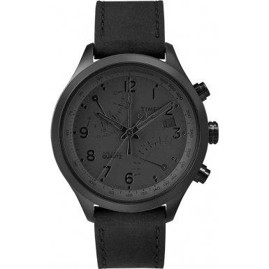 Timex-Intelligent-Quartz-TW2P79000-Mens-Black-Fly-Back-Chronograph-Watch