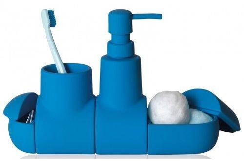 Seletti Submarino Bathroom Set Blue
