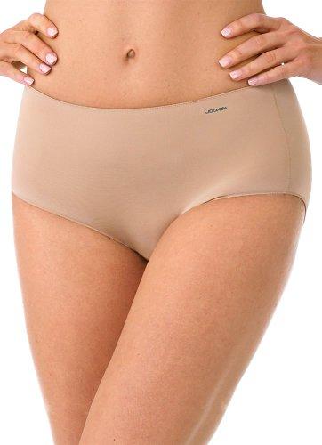 Jockey Women's Underwear No Panty Line Promise Tactel Hip Brief, Pointillism Leaf, 9 -