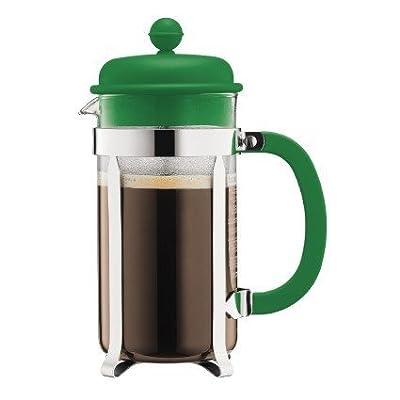 Bodum Caffettiera 1-Liter 8-Cup Coffee Maker, 34-Ounce, Green