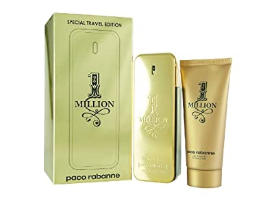 1 Million by Paco Rabanne for Men 2 Piece Set Includes: 3.4 oz Eau de Toilette Spray + 3.4 oz Shower Gel