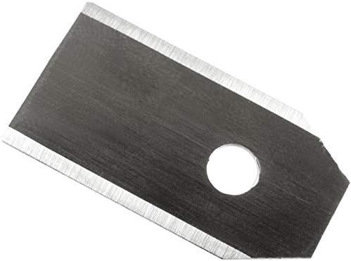 Powery 9X Cuchillas de Recambio, Cuchillas de Corte (0,75mm ...