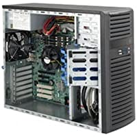 SUPERMICRO Supermicro SuperChassis CSE-732D4-865B 865W Mid-Tower Server Chassis (Black) / CSE-732D4-865B /
