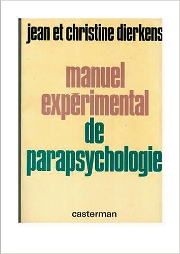 Livre Manuel expérimental de parapsychologie pdf, epub
