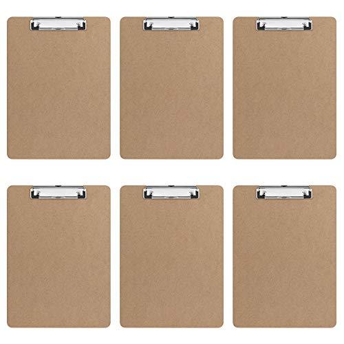 STOBOK Letter Clipboard Profile Hardboard