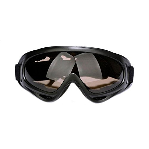 CENDA Motorcycle Goggles Smoke Lense Over Phoenix Fit On Sunglasses,Black Frame with 4 - Phoenix Cheap Glasses