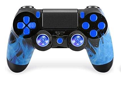 amazon com blue fire ps4 pro custom un modded controller exclusive
